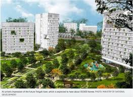 Tengah EC Eco-Friendly Town Close to Jurong Central Business District